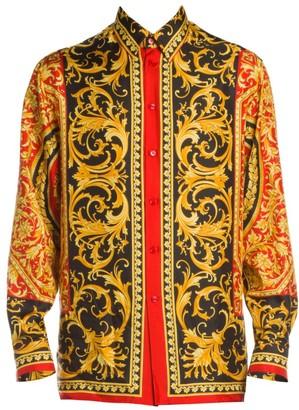 Versace Le Pop Classique Silk Shirt