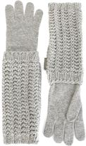 Moncler long knitted gloves