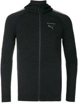 Puma lightweight zipped hoodie - men - Cotton/Polyamide - S