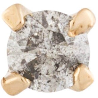 E.m. Diamond Stud Earring