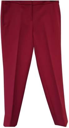 Michael Kors Pink Cotton Trousers