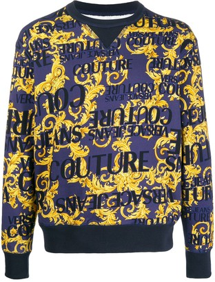Versace Baroque Print Sweatshirt