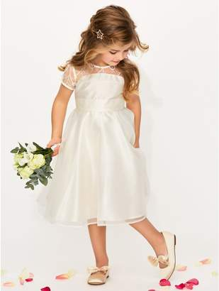 M&Co Lace insert bridesmaid dress (3 - 12 yrs)