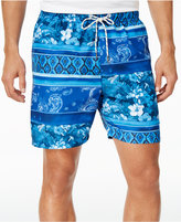 Tommy Bahama Men's Naples Splice of Life Sun Protection 30 Swim Trunks