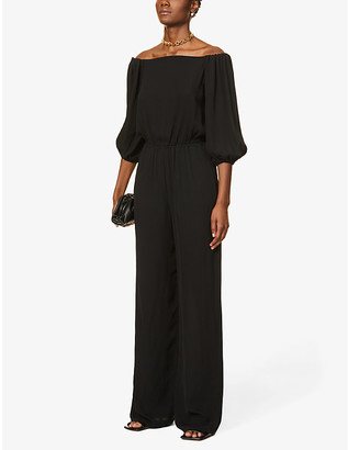 Theory Classic silk jumpsuit