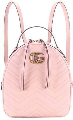 Gucci GG Marmont matelasse leather backpack