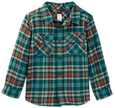 Tea Collection Luis Flannel Baby Shirt (Baby Boys)