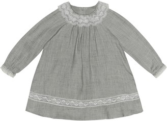 Tartine et Chocolat Baby wool-blend dress