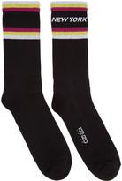 Kenzo Black Paradise New York Socks