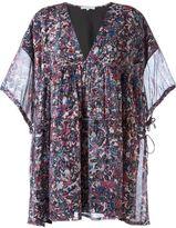 IRO printed V-neck dress - women - Silk/Polyester/Spandex/Elastane - 40