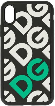 Dolce & Gabbana logo iPhone X case