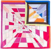 Faliero Sarti Profy print scarf - unisex - Silk/Cotton - One Size