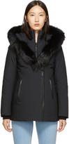 Mackage SSENSE Exclusive Black Down Adali Powder Touch Coat