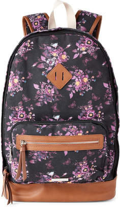 Madden-Girl Printed Canvas Backpack