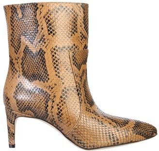 Paris Texas Embossed Stiletto Ankle Boots