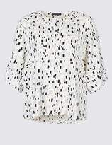 Marks and Spencer CURVE Kimono Sleeve Blouse
