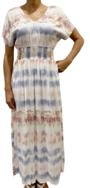 BeBop Juniors' Tie-Dye Maxi Dress