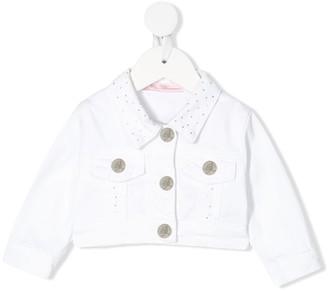 Miss Blumarine Cropped Denim Jacket