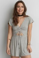 American Eagle Outfitters AE Soft & Sexy Tie Keyhole Romper