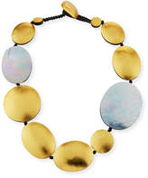 Viktoria Hayman Single-Strand Disc Necklace
