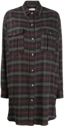 Etoile Isabel Marant Iceo checked shirt dress