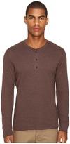 Billy Reid Long Sleeve Harper Henley Men's T Shirt
