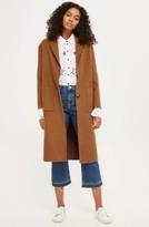 Topshop Women's Long Coat