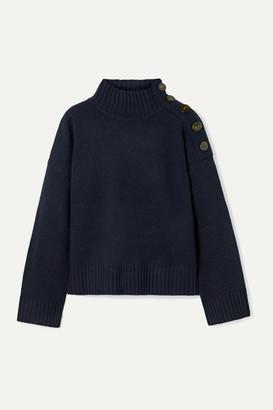 By Malene Birger Kerria Wool-blend Sweater - Midnight blue