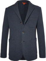 Barena - Blue Slim-fit Unstructured Wool-blend Blazer