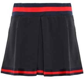 The Upside Pleated Cotton-blend Jersey Tennis Skirt