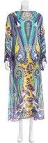 Etro Silk Printed Dress w/ Tags