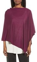 Eileen Fisher Women's Silk & Organic Linen Poncho