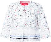 Coohem tweed jacket - women - Cotton/Linen/Flax/Acrylic/Rayon - 38