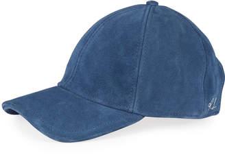 Rag & Bone Marilyn Suede Baseball Cap