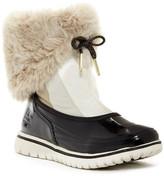Sorel Snowdance Pull On Faux Fur Lined Waterproof Boot (Women)