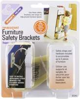 Mommys Helper Mommy's Helper Tip-Resistant Furniture Safety Brackets