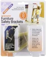 Mommys Helper Mommy's Helper Tip-Resistant Furniture Safety Brackets