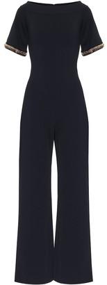 Stella McCartney Embellished knit jumpsuit