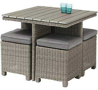 Kettler Palma 4 Seater Garden Cube Table and Chairs Set