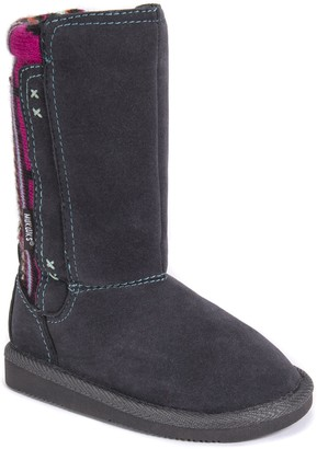 Muk Luks Girls Stacy Boots-Grey Fashion 12