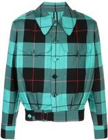 Charles Jeffrey Loverboy Civil Uniforms tartan jacket