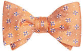 Brooks Brothers Textured Four-Petal Flower Bow Tie
