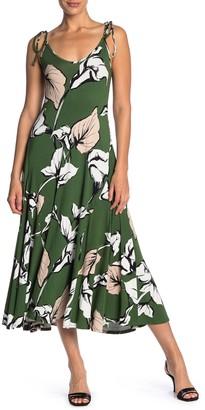 Rachel Pally Gloria Self-Tie Strap Maxi Dress