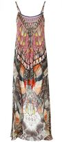 Camilla Light My Fire Mini Dress With Long Overlay