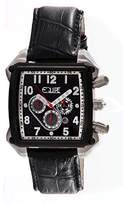 Equipe Men's Bumper Leather Watch