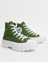 Converse Chuck Taylor Hi Chunky Sole Green trainers