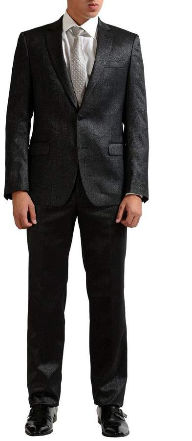 Versace Men's Wool Sparkling Two Button Suit