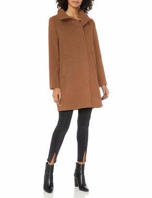 Cole Haan Women's Slick Wool Topper Coat