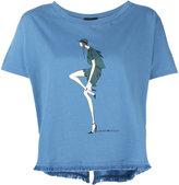 Emporio Armani doll print T-shirt - women - Cotton - 42