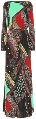 Etro Printed crApe gown